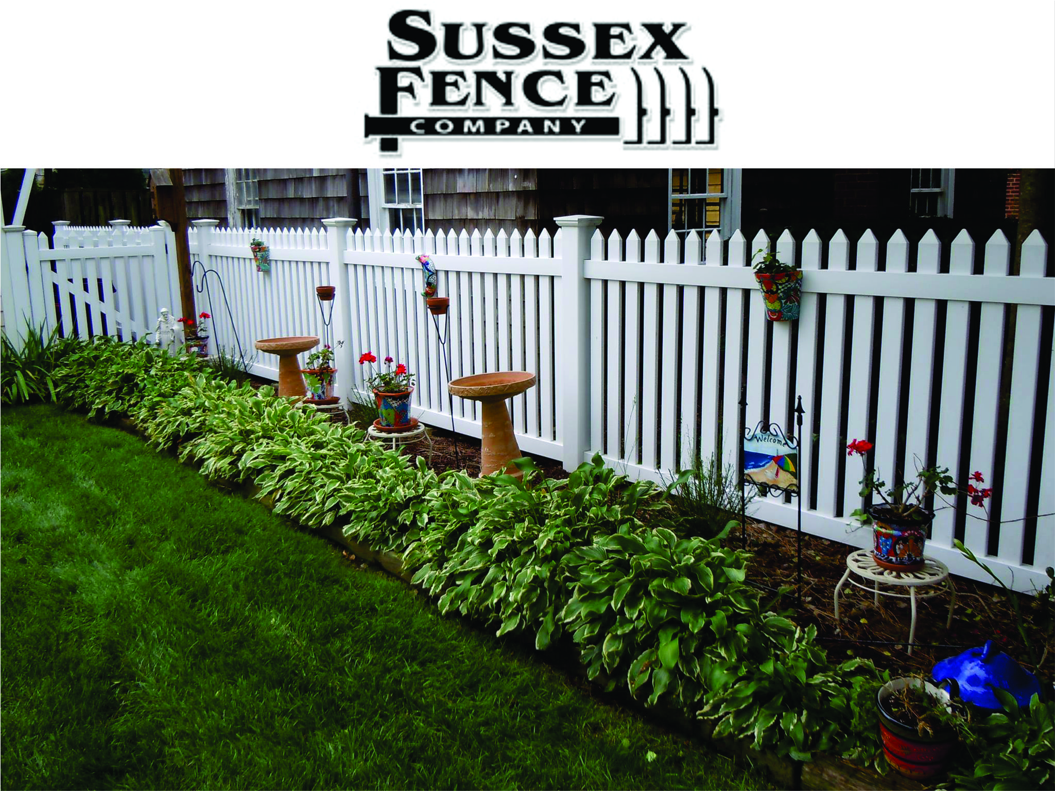 Welcome to Sussex Fence web site. Click here to return to Home page.
