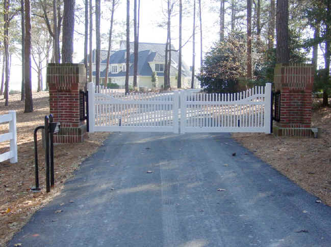 Custom Automated Entry Gates